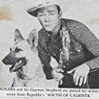 Roy Rogers and Bullet in South of Caliente (1951)
