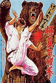 Kyokuskin kenka karate burai ken Poster