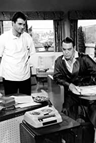 Vince Edwards and Chester Morris in Ben Casey (1961)