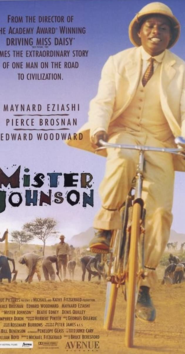 Subtitle of Mister Johnson