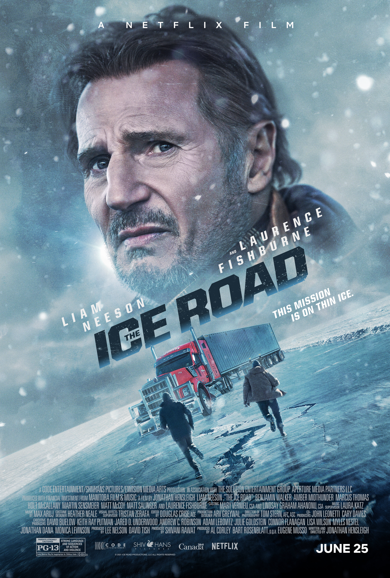 Free Download The Ice Road Full Movie