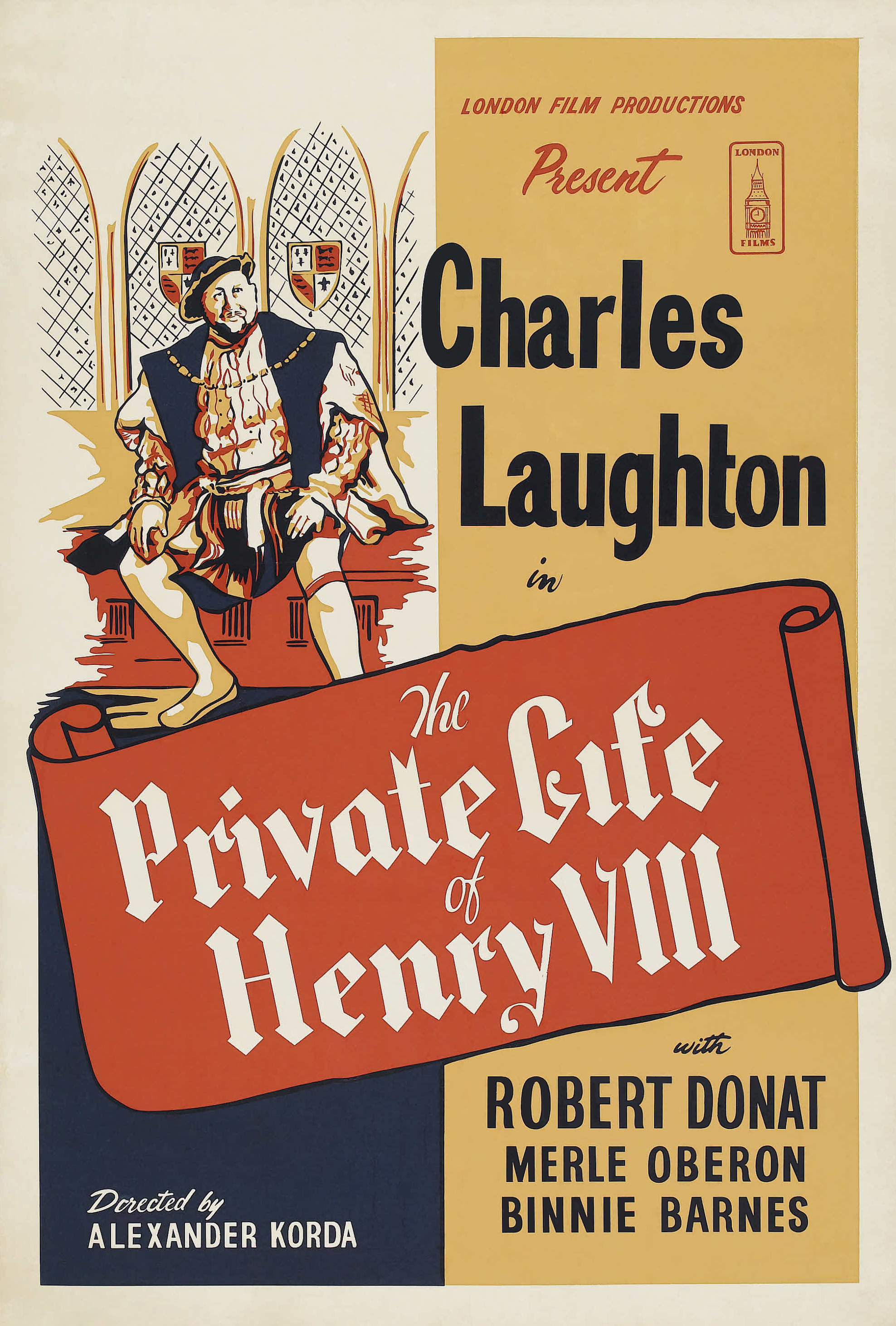 Image result for movie the private lives of henry the VIII