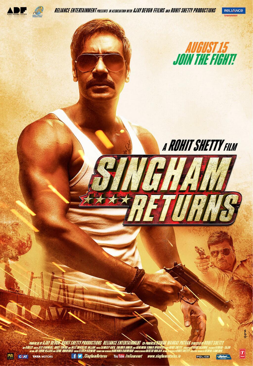 Singham Returns (2014) - IMDb