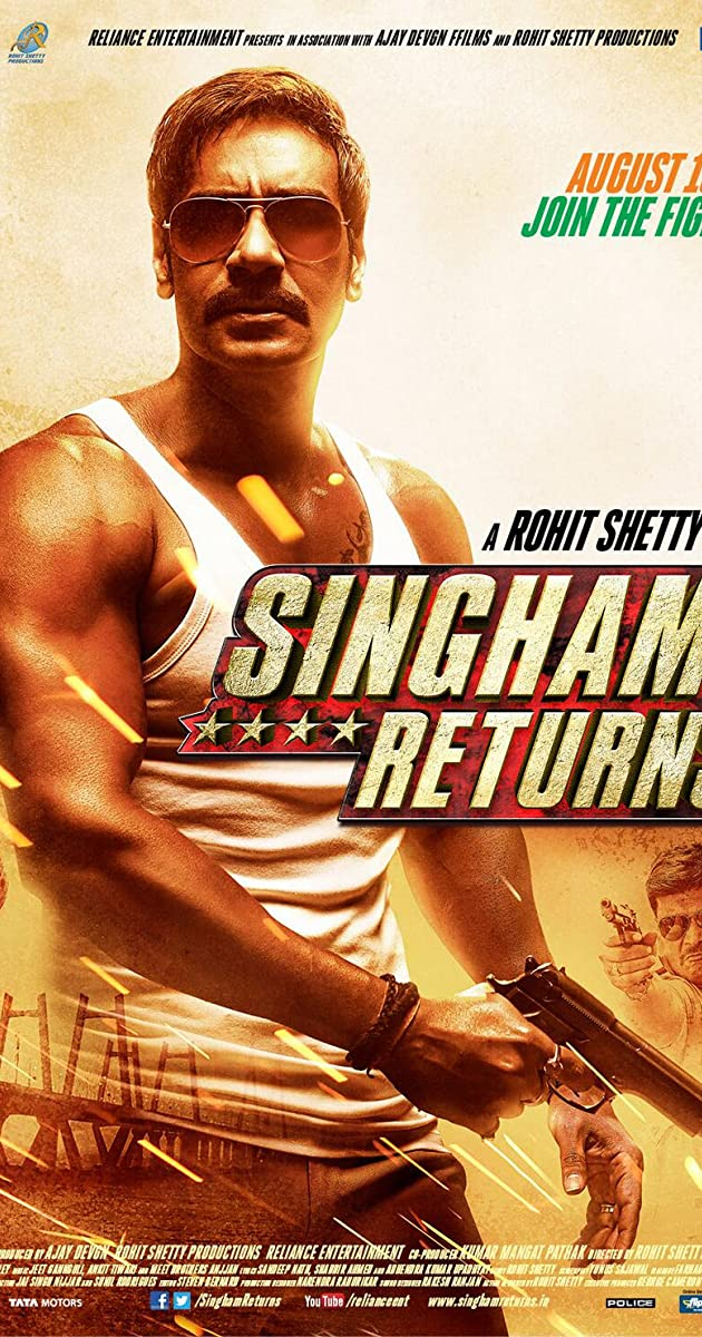 Singham Returns 2014 Full Cast Crew Imdb