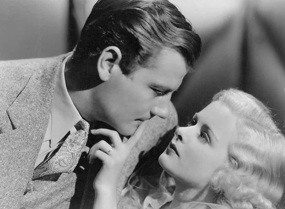 Joan Bennett and Joel McCrea in Private Worlds (1935)