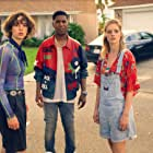 Samara Weaving, Kid Cudi, and Brigette Lundy-Paine in Bill & Ted Face the Music (2020)