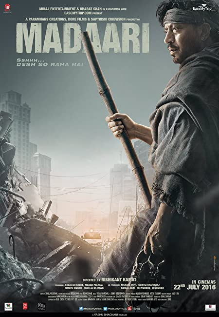 Madaari (2016) Hindi Blu-Ray - 720P - x264 - 2GB - Download & Watch Online With Subtitle Movie Poster - mlsbd