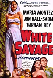 White Savage Poster