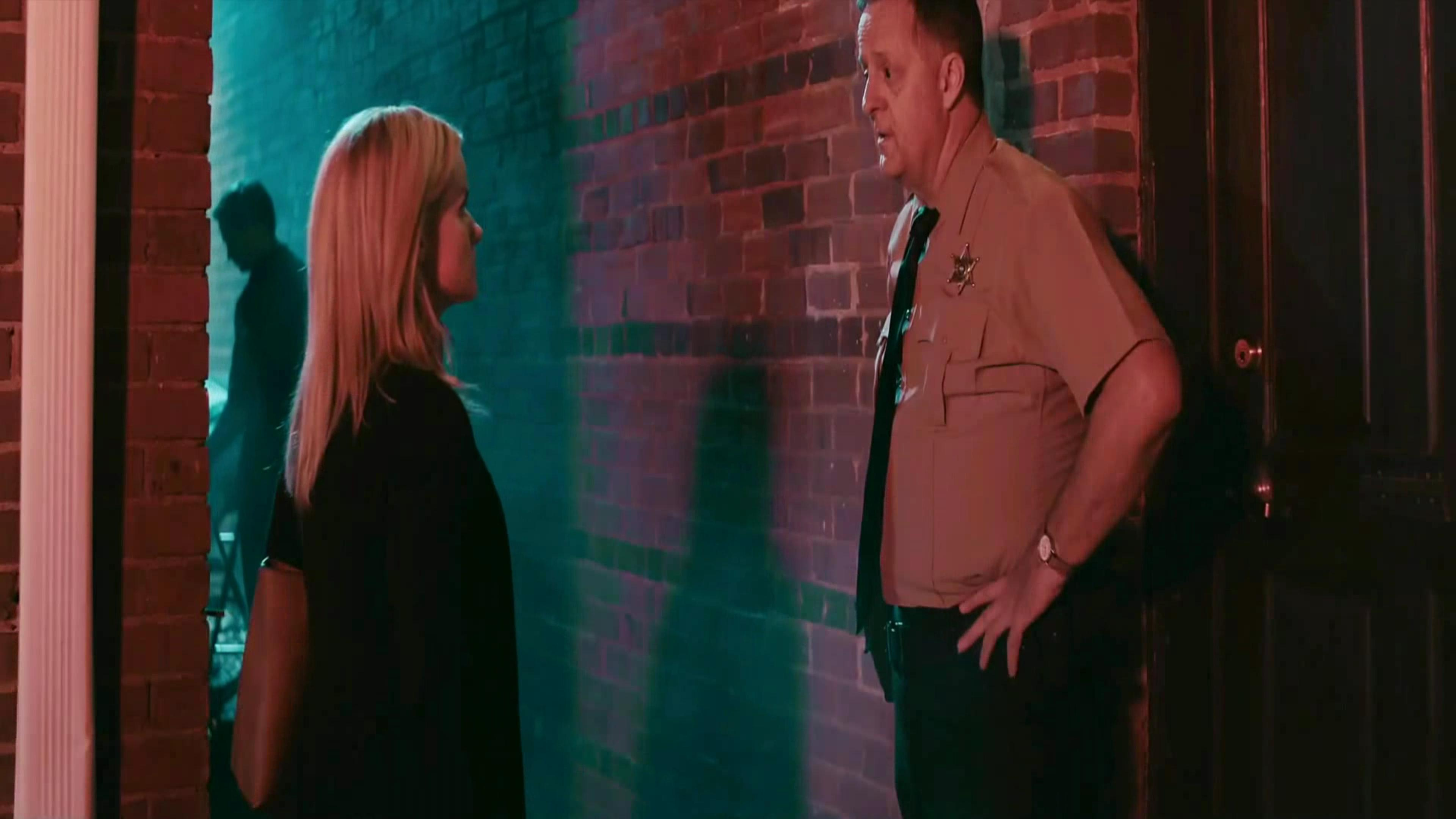 Wayne Hughes as Sheriff Vincent.  Film Transference.