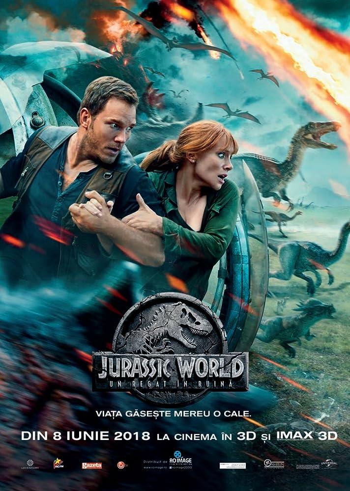 Jurassic World: Fallen Kingdom (2018) Hindi Dubbed