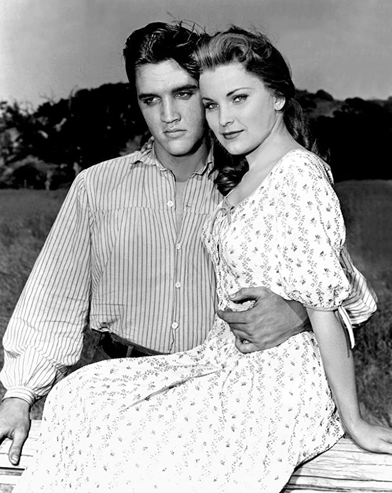 Image result for elvis presley and debra paget in love me tender