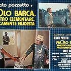 Janet Agren, Pinuccio Ardia, and Renato Pozzetto in Paolo Barca, maestro elementare, praticamente nudista (1975)
