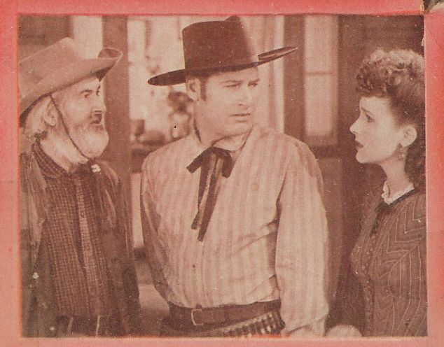 Richard Arlen, George 'Gabby' Hayes, and Lynne Roberts in The Big Bonanza (1944)