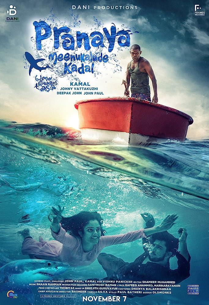 Pranaya Meenukalude Kadal 2019 Malayalam Full Movie 400MB WEBRip ESub Download