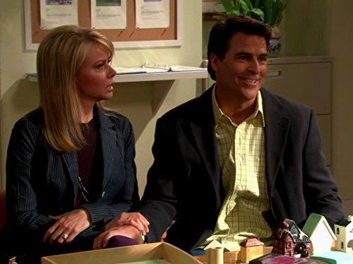 Faith Ford and Ted McGinley in Hope & Faith (2003)