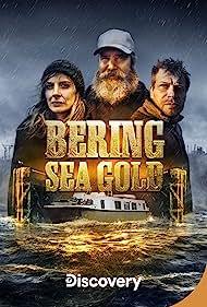 Emily Riedel, Shawn Pomrenke, and Ken Kerr in Bering Sea Gold (2012)