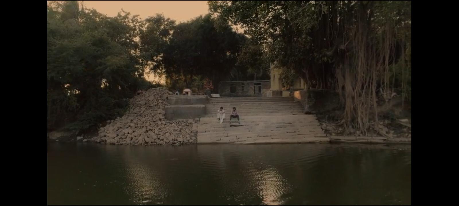 Jagjeet Sinh Vadher and Pratik Gandhi in Vitthal Teedi (2021)