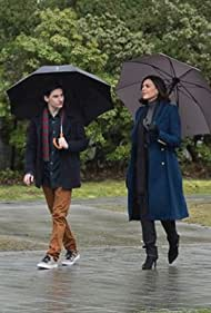 Lana Parrilla and Jared Gilmore in Once Upon a Time (2011)