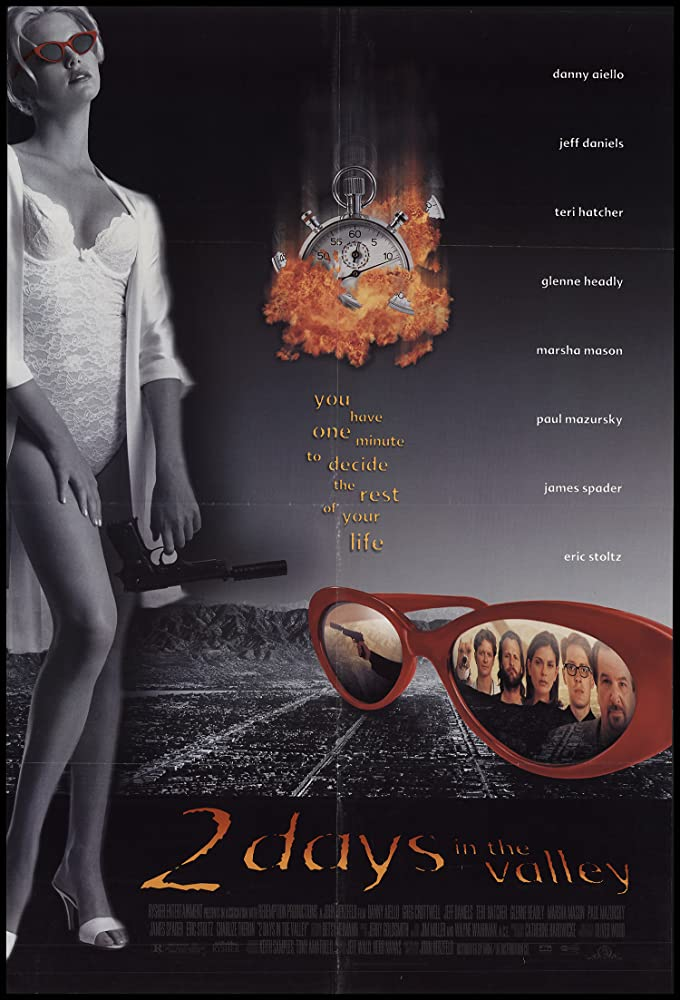 18+ 2 Days in the Valley 1996 English Hot Movie 720p HDRip 800MB x264 AAC