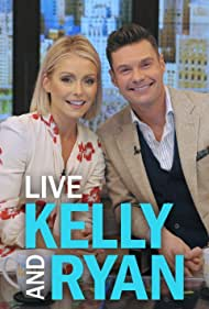 Kelly Ripa and Ryan Seacrest in Live with Regis and Kathie Lee (1988)