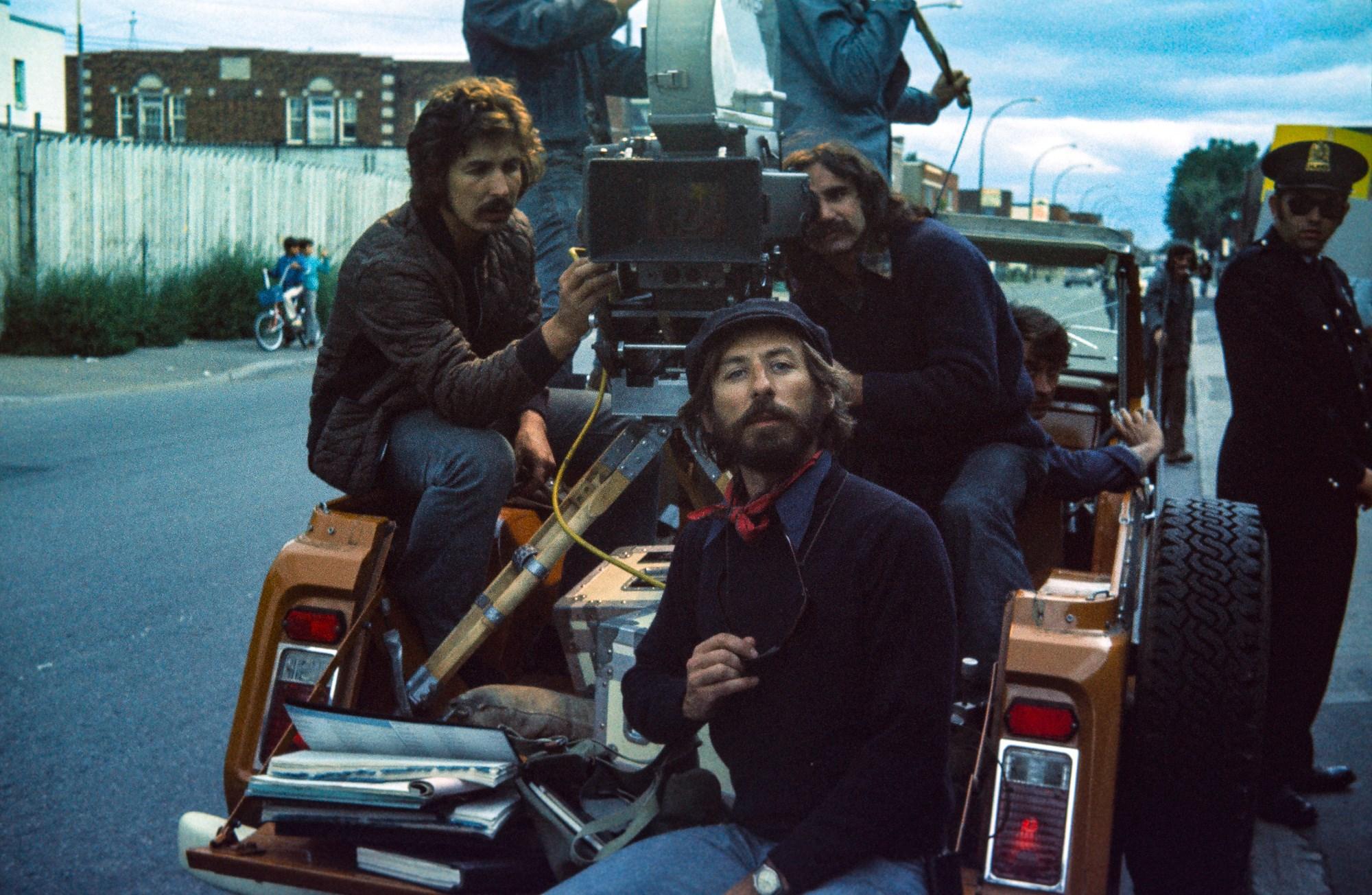 Yves Gélinas and Claude La Rue in Bingo (1974)