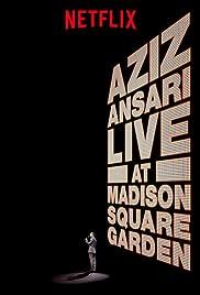aziz ansari live in madison square garden poster - Madison Square Garden Jobs