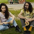 Anthony Kapfer and Nina Tandilashvili in Mute Date (2019)