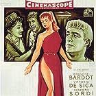 Brigitte Bardot, Vittorio De Sica, Alberto Sordi, and Gloria Swanson in Mio figlio Nerone (1956)
