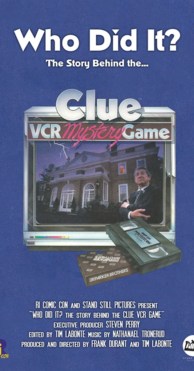 Who Did It? The Story Behind the Clue VCR Mystery Game (Video 2013