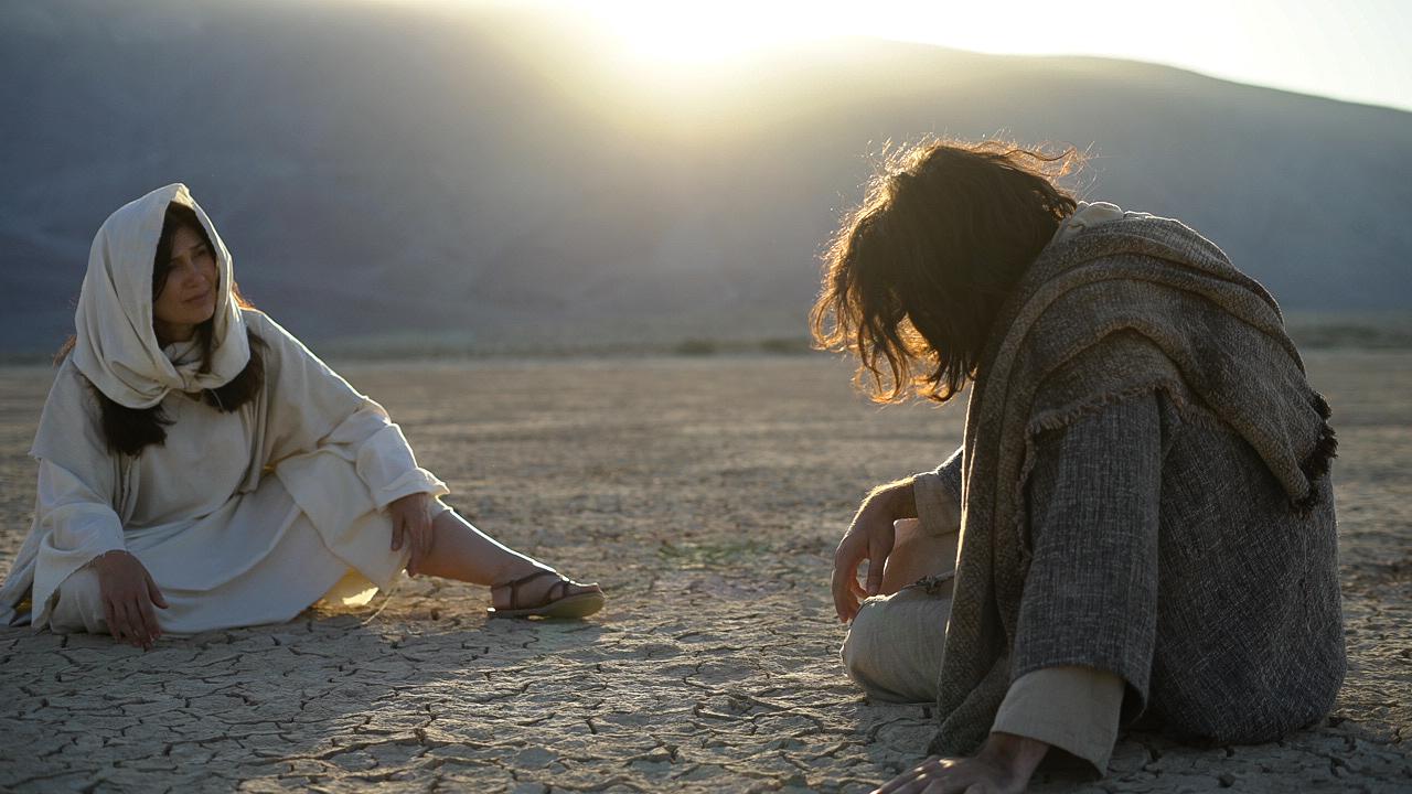Sophia Louisa and Sean Ardalan in XL: The Temptation of Christ (2019)