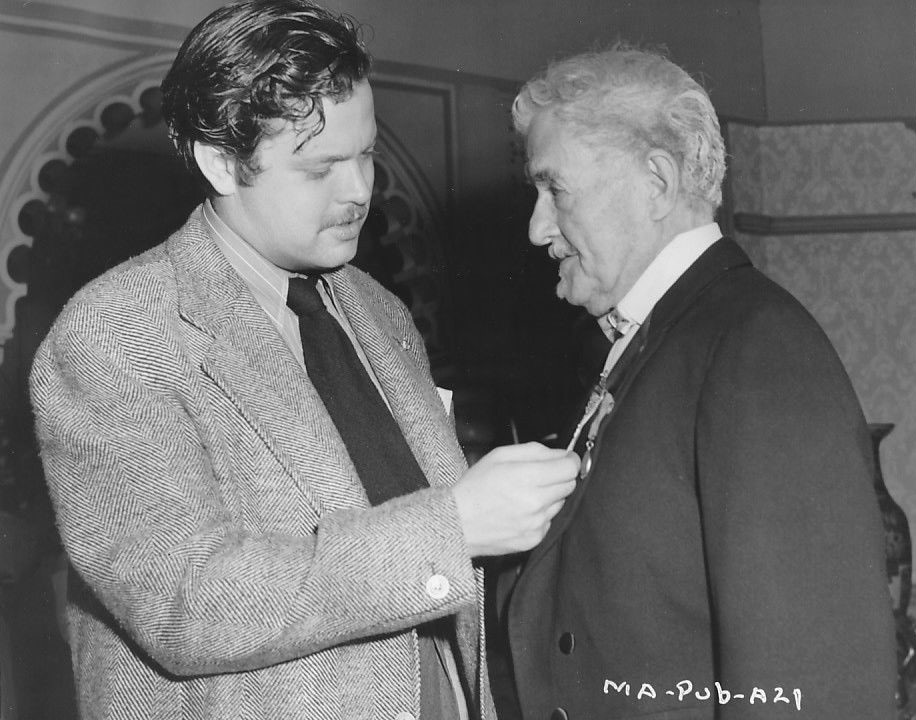 Orson Welles and Richard Bennett in The Magnificent Ambersons (1942)