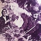 Stewart Granger and Wendell Corey in The Wild North (1952)