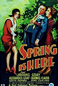 Spring Is Here (1930) Poster - Movie Forum, Cast, Reviews