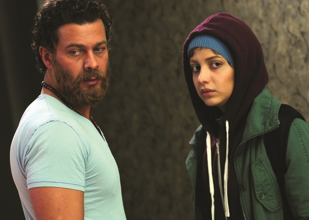 Pejman Bazeghi and Roshanak Gerami in Helen (2017)