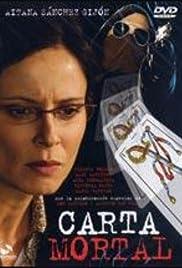 Carta mortal Poster