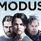 Krister Henriksson, Melinda Kinnaman, and Henrik Norlén in Modus (2015)