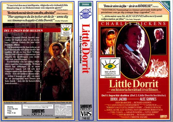 Alec Guinness, Joan Greenwood, and Sarah Pickering in Little Dorrit (1987)