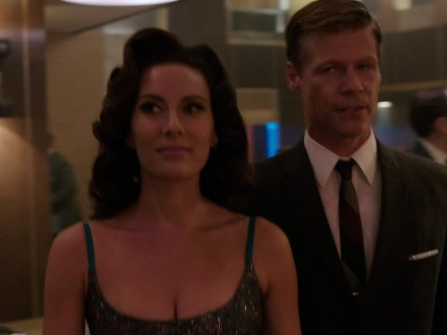 Joel Gretsch and Laura Benanti in The Playboy Club (2011)