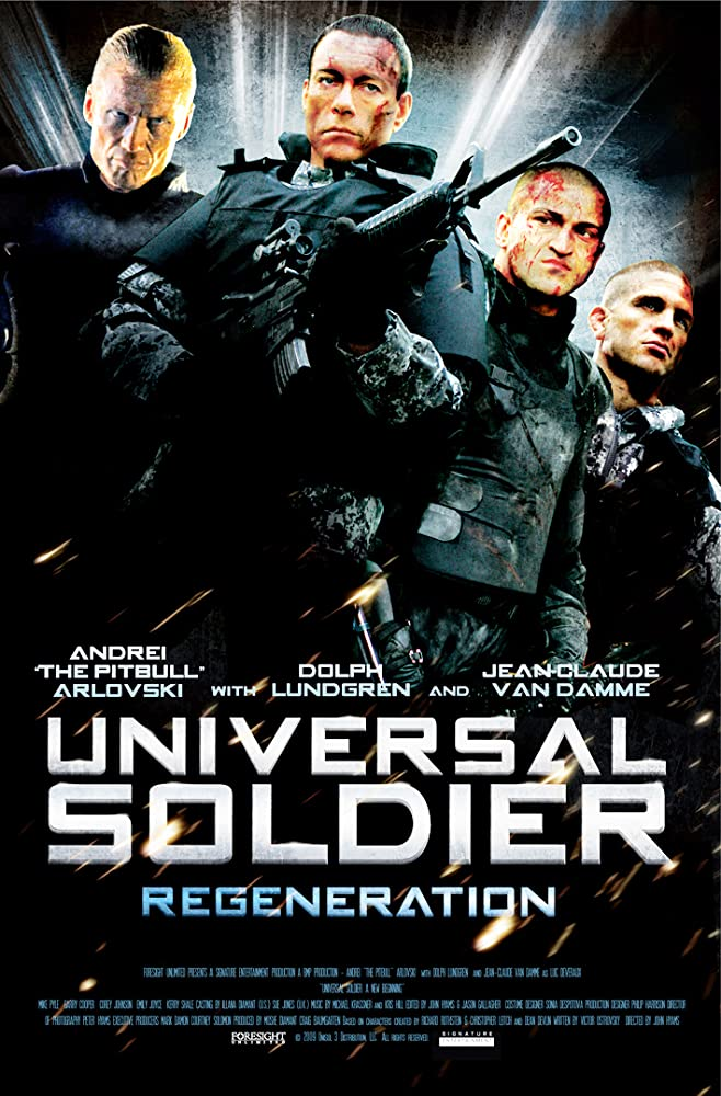 Universal Soldier Regeneration 2009 Dual Audio 480p