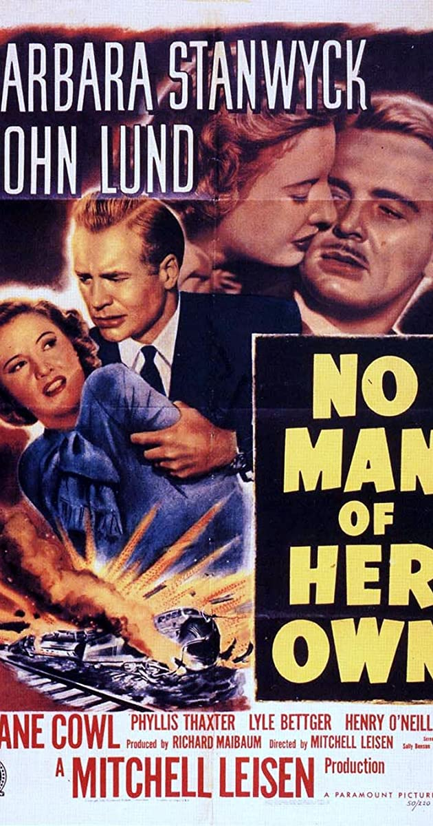 No Man Of Her Own 1950 Imdb