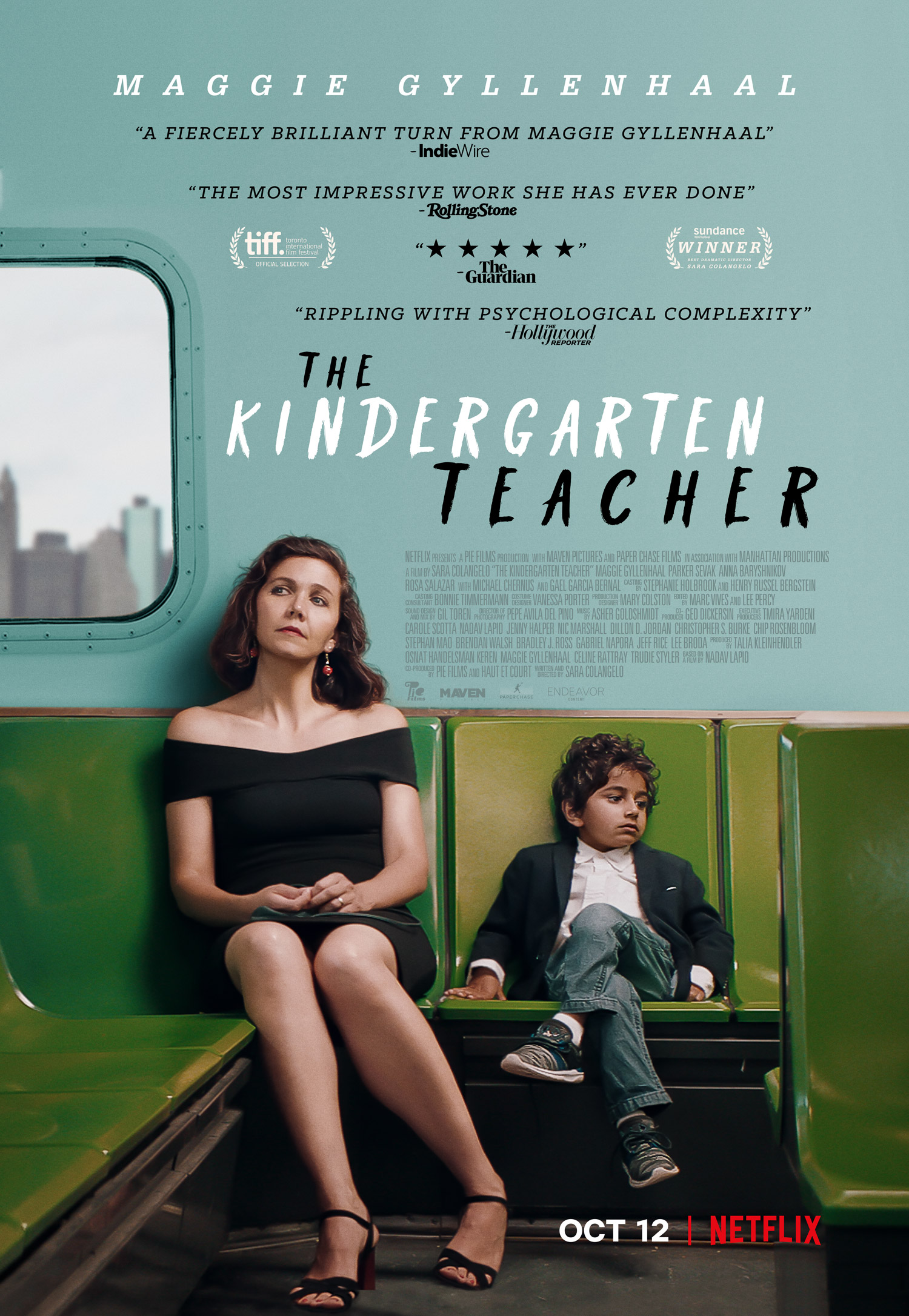 The Kindergarten Teacher (2018) - IMDb