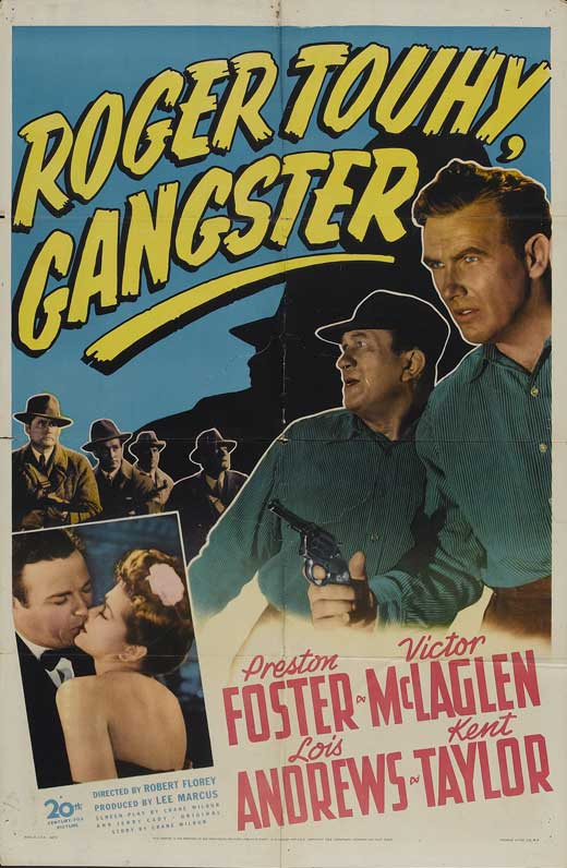Lois Andrews, Preston Foster, and Victor McLaglen in Roger Touhy, Gangster (1944)