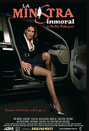 La Ministra Inmoral Poster