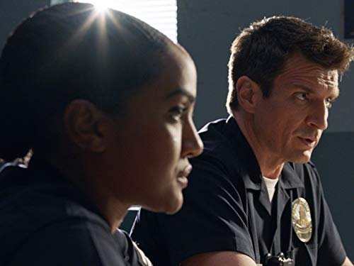 Nathan Fillion and Mekia Cox in Follow-Up Day (2020)
