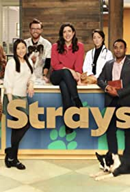 Tina Jung, Nicole Power, and Nikki Duval in Strays (2021)