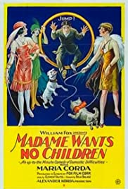 Madame Doesn't Want Children Poster