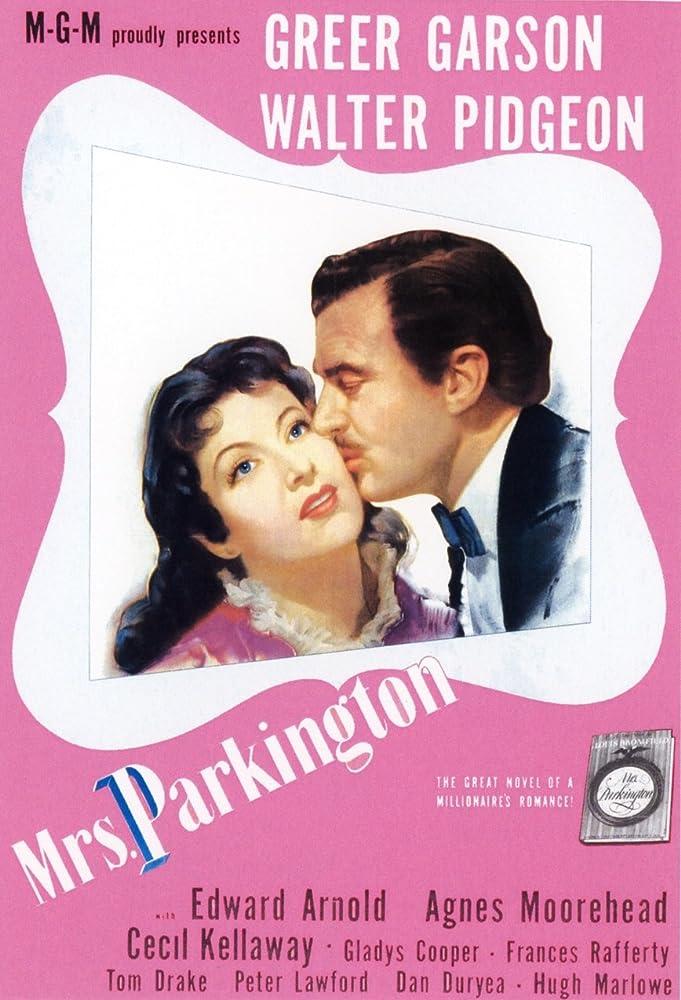 Greer Garson and Walter Pidgeon in Mrs. Parkington (1944)