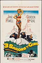 Three Sailors and a Girl (1953) Poster - Movie Forum, Cast, Reviews