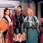 Man Cheung, Fang Fang, Tony Ka Fai Leung, Jimmy Lin, Man-Tat Ng, and Gloria Yip in Shen Jing Dao yu Fei Tian Mao (1993)