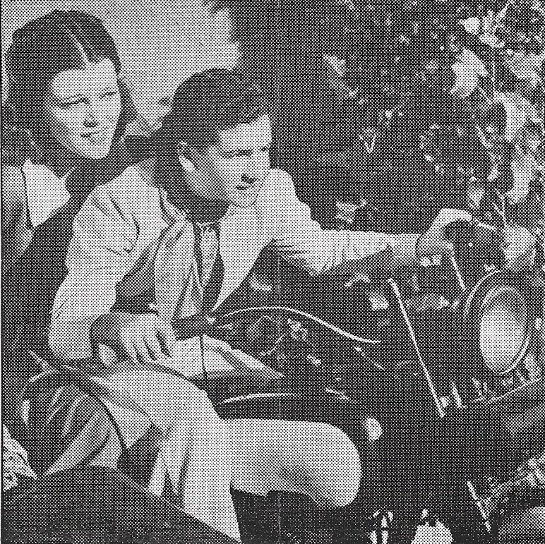 Bobby Breen and Marla Shelton in Escape to Paradise (1939)